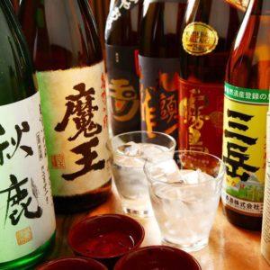 朝霞台の居酒屋で九州料理に良く合う日本酒と焼酎